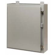 Cooper B-Line - Electrical Box - Steel Standard Enclosure Hinge Flat Cover  24206-12