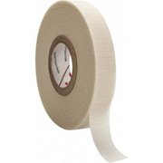 """3M™ - Electrical Tape - 1-2"""" x 66', White Glass Cloth Electrical Tape"""