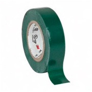 """3M™ - Electrical Tape - 1/2"""" x 20', Green Vinyl Electrical Tape - CA of 6 RL"""