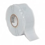 """3M™ - Electrical Tape - 1"""" x 30', Gray Silicone Electrical Tape"""
