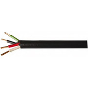 Southwire® - Outdoor Wire - 250', 14/4 Gauge/conductors, Black Indoor & Outdoor Replacement Cord - SO of 250 FT