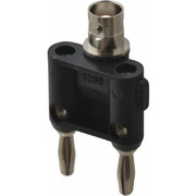 Pomona - Electrical Test Equipment Accessories - Black Electrical Test Equipment Adapter  1269