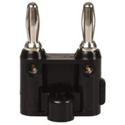 Pomona - Electrical Test Equipment Accessories - Black Electrical Test Equipment Banana Plug  MDP-0