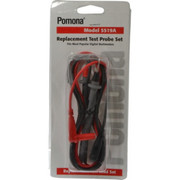 Pomona - Electrical Test Equipment Accessories - Black/red Electrical Test Equipment Leads Set  5519A