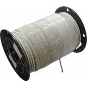 Southwire® - Building Wire - Thhn-thwn, 10 Awg, 30 Amp, 500' Long, Stranded Core, 19 Strand Building Wire  White - SO of 500 FT