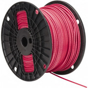 Southwire® - Building Wire - Thhn/thwn, 14 Awg, 15 Amp, 500' Long, Stranded Core, 19 Strand Building Wire 22957501 Red - SO of 500 FT
