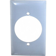 HUBBELL® - Wall Plates - 1 Gang, Outlet Wall Plate - CA of 2