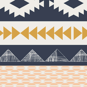 Aztec Fabric by the yard - Art Gallery Fabrics Arizona - Arid Horizon