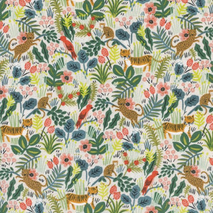 Rainforest jungle fabric - Rifle Paper Co. rainforest cotton fabric