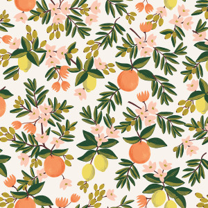 Citrus Floral Cream by Rifle Paper Co.
