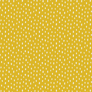 Yellow Scattered Showers cotton fabric - Art Gallery Fabrics Day Trip