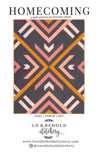 Homecoming Quilt - quilt pattern by Lo and Behold Stitchery