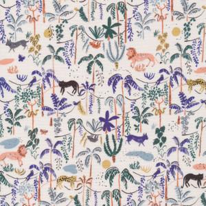 Jungle Forest fabric - Cloud 6 Fabrics Bountiful Forest organic cotton