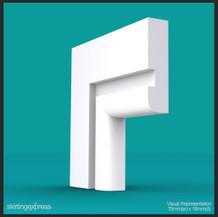 Grooved Grande I (B) Architrave