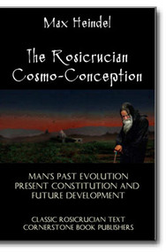 "Max Heindel (1865-1919) was one of the most prolific and respected of Rosicrucian writers. His magnum opus was the 1909, ""The Rosicrucian Cosmo-Conception,"" the acclaimed thesis on Christian mysticism and human spiritual evolution."