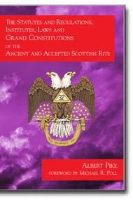 This is a photographic reproduction of Albert Pike's rare 1859 edition of the Constitutions of 1762 and the Grand Constitutions of 1786. This controversial work provides insight into the working of the Supreme Council, Southern Jurisdiction during the time of Pike.