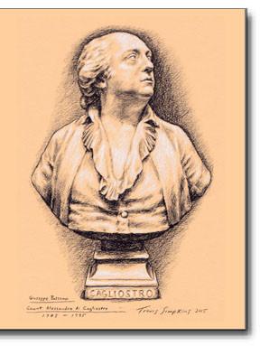 Count Alessandro di Cagliostro, Giuseppe Balsamo (1743-1795). Egyptian Rite Freemasonry, Occult by Travis Simpkins