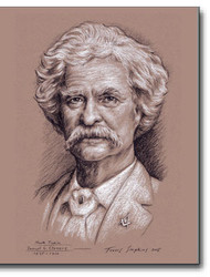 Mark Twain – Samuel Clemens (1835-1910) Freemason, Author, Humorist by Travis Simpkins