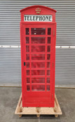 FULL SIZE LONDON RED TELEPHONE PHONE BOOTH REPLICA CALL BOX (Used)
