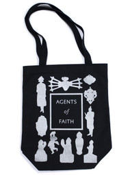 Agents of Faith tote bag