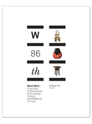 West 86th: Volume 25, No. 1 (Spring–Summer 2018)