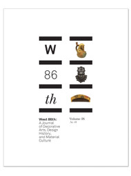 West 86th: Volume 26, No. 1  (Spring–Summer 2019)