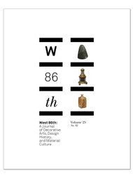West 86th: Volume 25, No. 2  (Fall–Winter 2018)