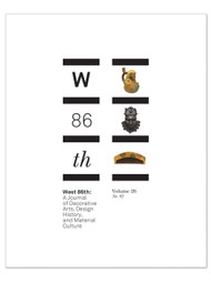 West 86th: Volume 26, No. 2  (Fall–Winter 2019)