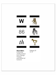 West 86th: Volume 27, No. 2  (Fall–Winter 2020)
