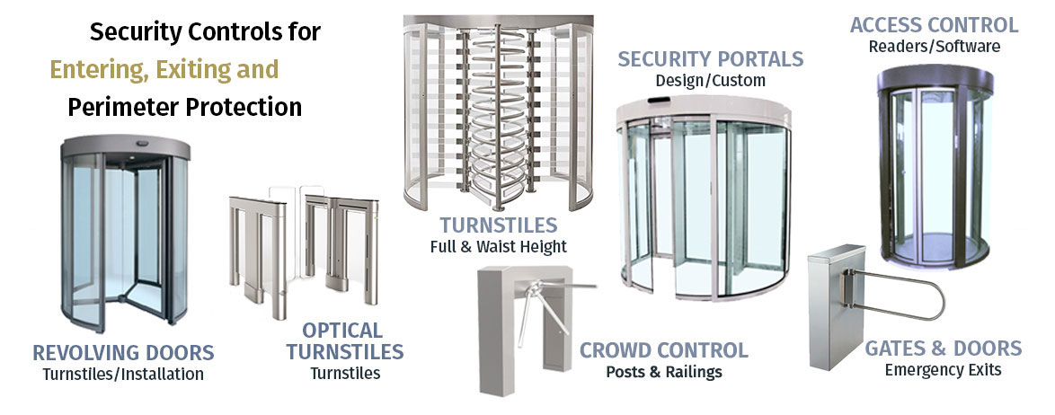 Turnstiles, Gates, Turnstyles, ADA Gates, Double Turnstiles, Full Height Gates
