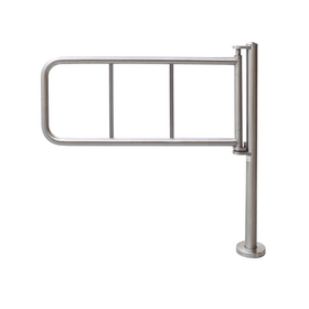 Single Post Gate, 1 Direction, Stainless Steel
