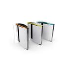 Optical Turnstile - Clear Sliding Panels