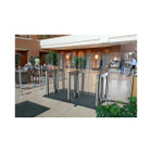 "Optical Turnstile - 69"" Tall Bi-Parting Barriers"