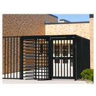 "Full Height Gate, Manual, 48"" Powder Coated"