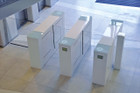Optical Turnstiles, Retracting Panels - Custom