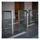 Barrier Free Glass Optical Turnstiles