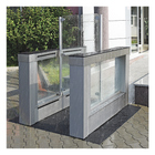 Outdoor Optical Turnstile, Tall Panels