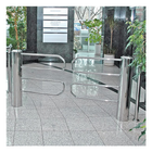 Double-Curved Motorized Gate