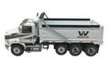 Diecast Masters Western Star 4700 SF Dump Truck in White w/White Dump 1/50 71034