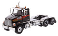 Diecast Masters Western Star 4700 SF Tandem Day Cab in Metallic Black 1/50 71036