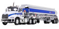 First Gear Arco Mack Pinnacle with 42' Fuel Tank Trailer 1/64