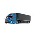 First Gear Volvo VNL 760 High-Roof Sleeper W/53' Trailer and Skirts 1/64 60-0644