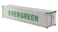 Diecast Masters EverGreen - 40' Refrigerated Shipping Container White 1/50