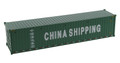 Diecast Masters China Shipping - 40' Dry Goods Shipping Container1/50