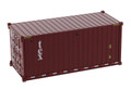 Diecast Masters Tex - 20' Dry Goods Shipping Container 1/50