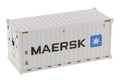 Diecast Masters Maersk - 20' Refrigerated Shipping Container 1/50