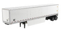 Diecast Masters 53' Dry Van Trailer in White - Trailer Only1/50