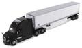 Diecast Masters Freightliner New Cascadia Black & 53' Dry Van Trailer 1/50