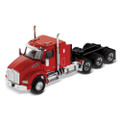 "Diecast Masters Kenworth T880 SBFA 40"" Sleeper Tridem Tractor in Speed Orange - Cab Only 1/50"