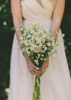 Feverfew Country Flower Bouquet